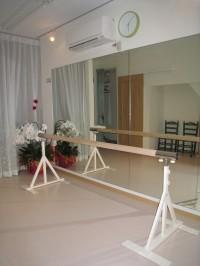 スタジオ内の写真